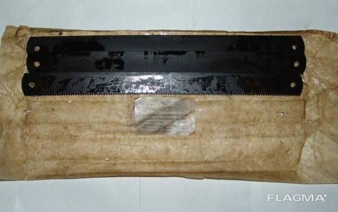 Полотно ножовочное машинное Р6М5 450мм.