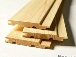 Вагонка деревянная фальш брус половая доска