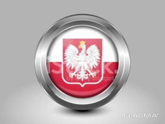 Польская Национальная Рабочая Виза кат. D