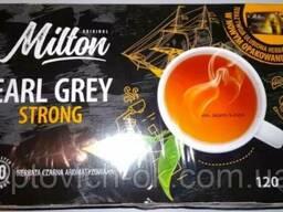 Польский чай Milton Earl Grey Strong (80 пакетиков)