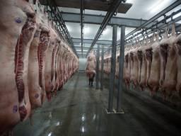 Полу туши свиные и говяжьи