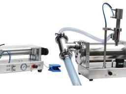 Полуавтоматическая машина для налива жидкостей