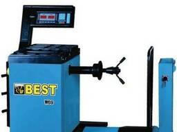 Полуавтоматический балансировочный станок Best W69, 200 кг