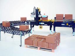 Линия упаковки коробов F105 S8 SIAT (формовка и заклейка)