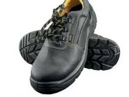 Полуботинки(туфли) кожаные, рабочие, литьевая подошва.