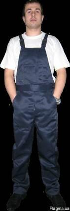 Костюм рабочий, п/к, брюки, мужской. ткань грета