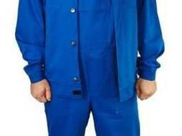 Полукомбинезон с курткой 100% хлопок (рабочий костюм)