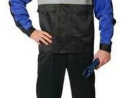 Полукомбинезон с курткой Евро , Костюм мужской для защиты