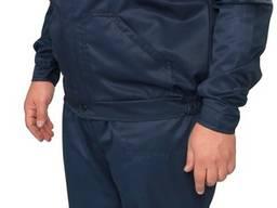 Полукомбинезон с курткой синий