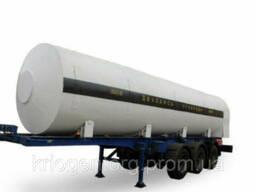 Полуприцеп-цистерна для транспортировки углекислоты ЦЖУ 17, 5
