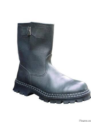 Полусапоги юфть -кирза, клеепрошивные, обувь рабочая