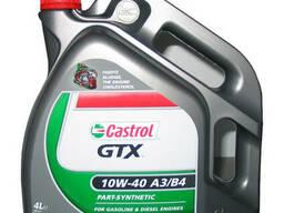 Полусинтетическое моторное масло Castrol GTX 10w-40 A3/B4,