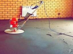 Полусухая цементно-песчаная стяжка по немецкой технологии