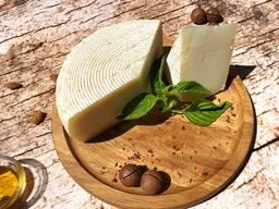 """Полутвердый сыр """"Фермерский"""" из козьего молока (4 мес. )"""