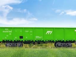 Полувагон модели 12-9745 для перевозки грузов, не требующих