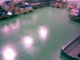 Полы наливные промышленные