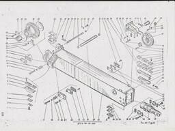 Секция стрелы 6472А-401-21-000 автокран КШТ-50. 01. ..
