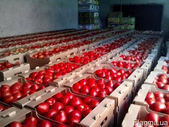 Гофроящик под перец, помидоры