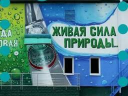 Поможем закрепить рекламу на фасаде торговой точки в Полтаве