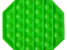 Pop It Антистресс Игрушка - (Поп Ит - Попит - Popit) - Флуоресцентный Зелёный. ..
