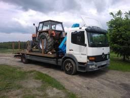 Попутный эвакуатор и автовоз из Харькова по Украине, Европа