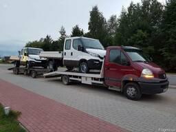 Попутный Эвакуатор из Киева по Украине, Евакуатор Европа СНГ