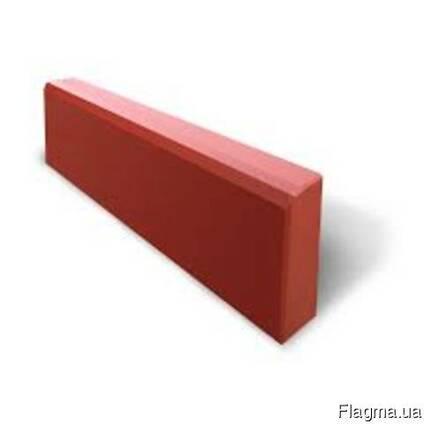 Поребрик 500х200х60 красный