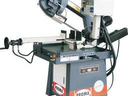 Порезка металла на лентопильном станке PPS-250HPA
