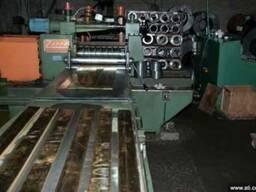Порезка металла на штрипс