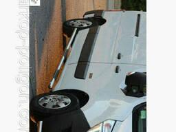 Пороги из труб для Nissan NV400 с 2010 г.