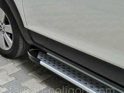 Пороги площадки для Land Rover Freelander I