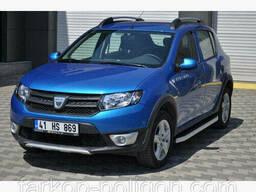 Пороги площадки для Dacia Sandero с 2013 г.