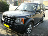 Пороги площадки для Land Rover Discovery III - фото 3