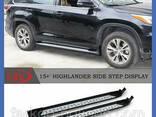 Пороги площадки для Toyota Highlander с 2013 г. - фото 1