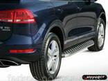 Пороги площадки для Volkswagen Touareg с 2010 г. - фото 1