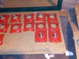 Порошковая (полимерная) покраска (окраска) в камере обжига (