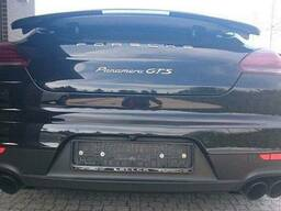Porsche Panamera 2013 рестайл Разборка Крышка багажника Фона