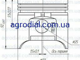 Поршень ЗМЗ / ГАЗ-53 / 53-1004015-22П