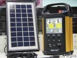 Портативний акумулятор GDLite GD-8031 з 3-ма лампами
