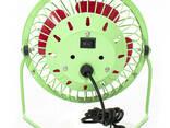 Портативный мини-вентилятор Fan Mini Sanhuai A18 Green +. .. - фото 5