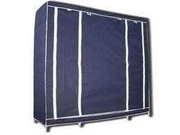 Портативный тканевый шкаф-органайзер на 3 секции