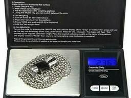Портативные электронные весы Digital scale Professional-mini CS-200
