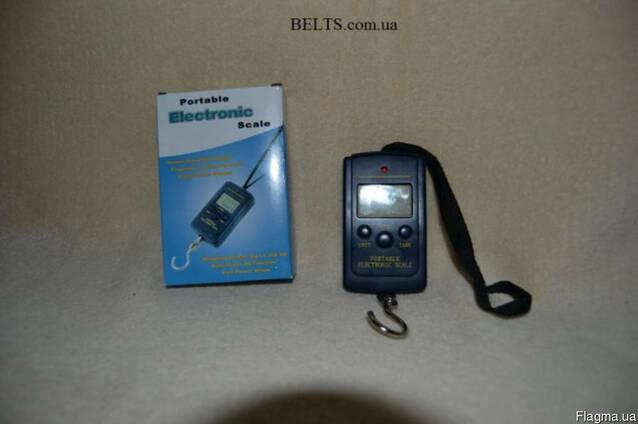 Портативные электронные весы до 40 кг. , Portable Electronic