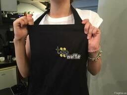 Пошив фартуков для барменов, официантов, поваров