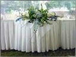 Пошив фуршетных юбок для столов