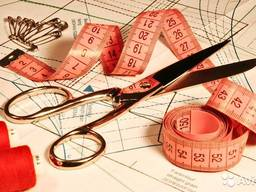 Пошив и ремонт из всех видов тканей и кожи