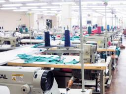 Пошив одежды массовка