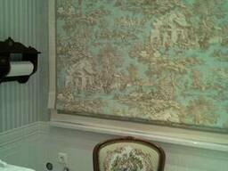 Пошив штор, чехлов, подушек, римских штор