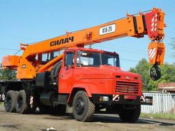 Послуги автокраном КТА-25