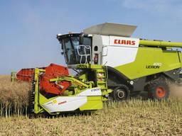 Послуги збору врожаю зернових комбайнами CLAAS